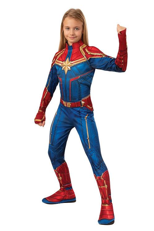 Captain Marvel Girl's Costume