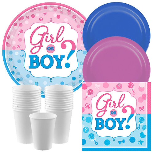 Boy or Girl? Tableware Kit
