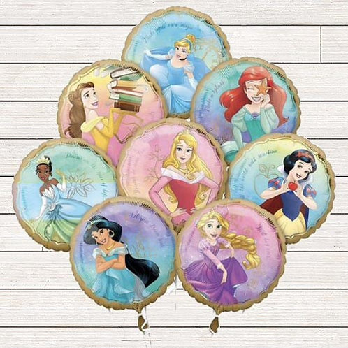 Disney Princess Mylar Balloon Bundle