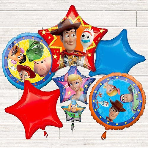 Toy Story Mylar Balloon Bundle