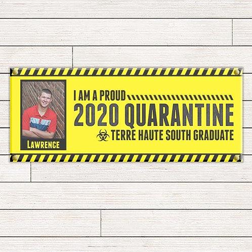 Quarantine Grad Banner