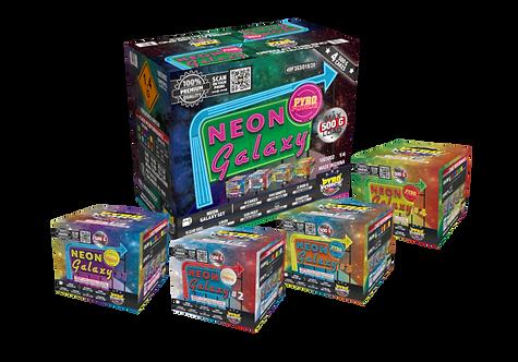 Neon Galaxy Case Assorment
