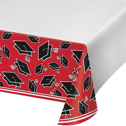 "Red Grad 54""x102"" Tablecover"