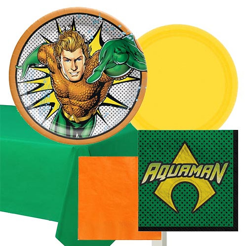 Aquaman Tableware Kit