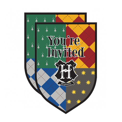Harry Potter Invitations x2 (16ct.)