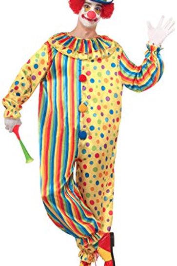 Spots the Clown Unisex Adult Costume