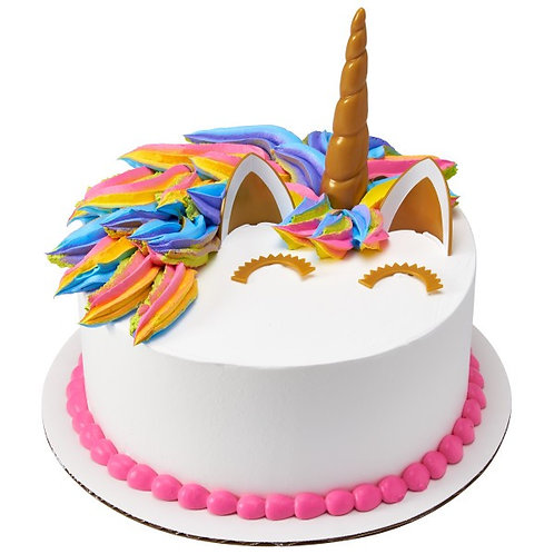Unicorn Cake Deco Set
