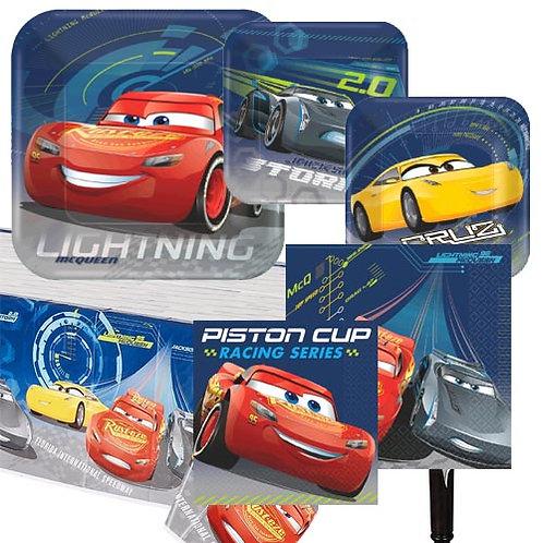Cars 3 Tableware Kit