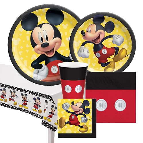 Mickey Mouse Forever Tableware Kit