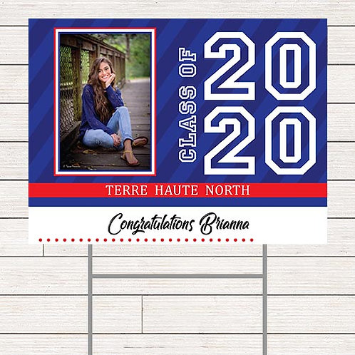 Modern Graduation Yard Sign