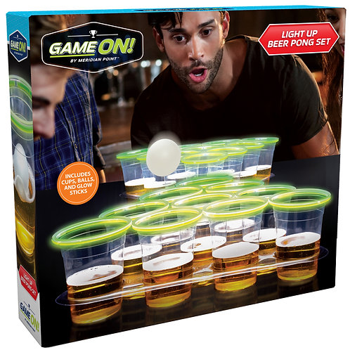 Light Up Beer Pong Game
