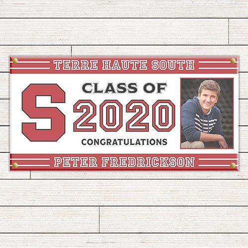 Varsity Graduation Banner