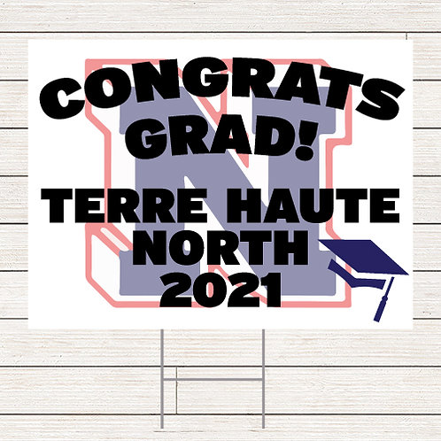 North Grad Yard Sign