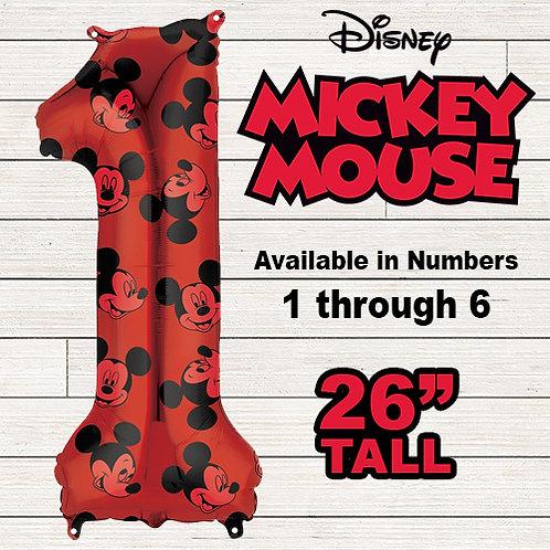 Mickey Mouse Jumbo Mylar Balloon