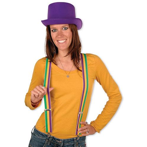 Mardi Gras Suspenders