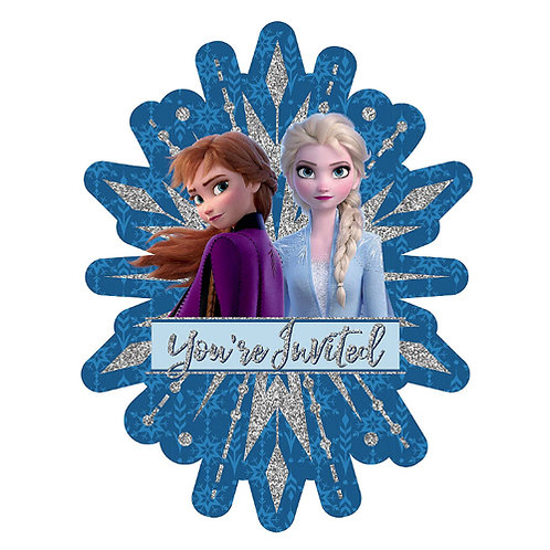 Frozen 2 Premium Invites