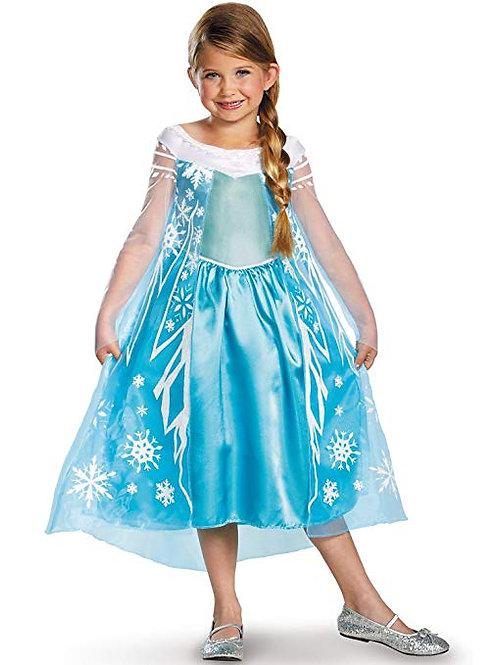 Elsa Frozen Girl's Costume