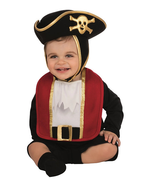 Pirate Bib & Hat Infant Costume