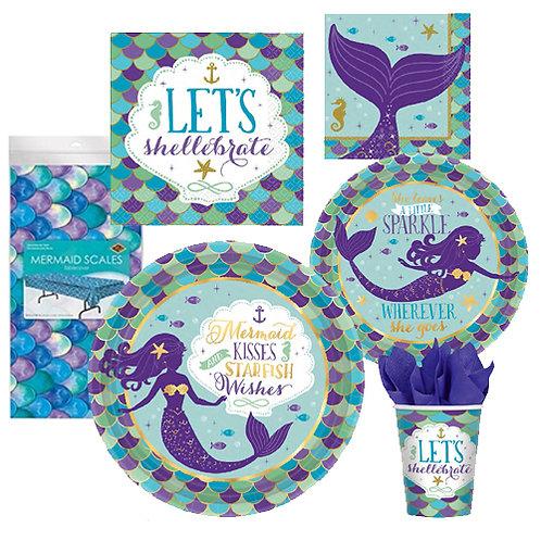Mermaid Wishes Tableware Kit