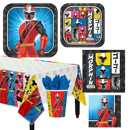 Power Rangers Tableware Kit