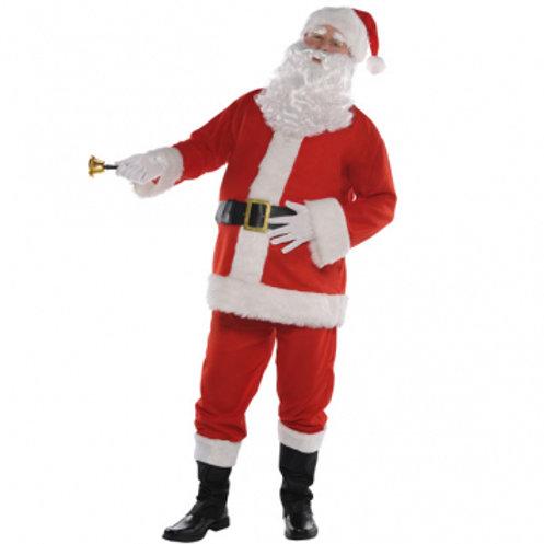 Classic Santa Men's Costume (Standard)