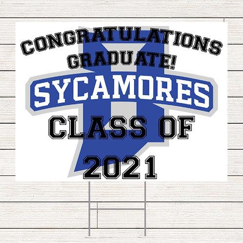 Basic ISU Grad Yard Signs