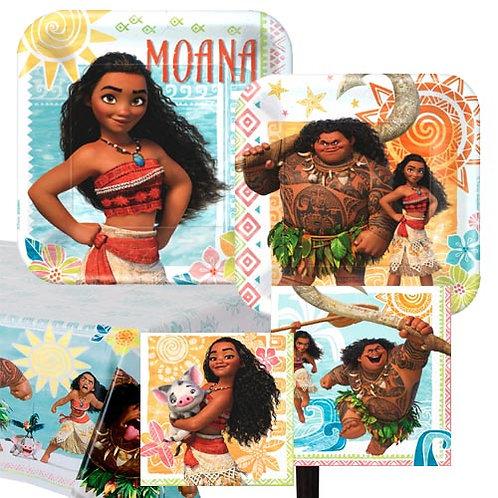 Moana Tableware Kit