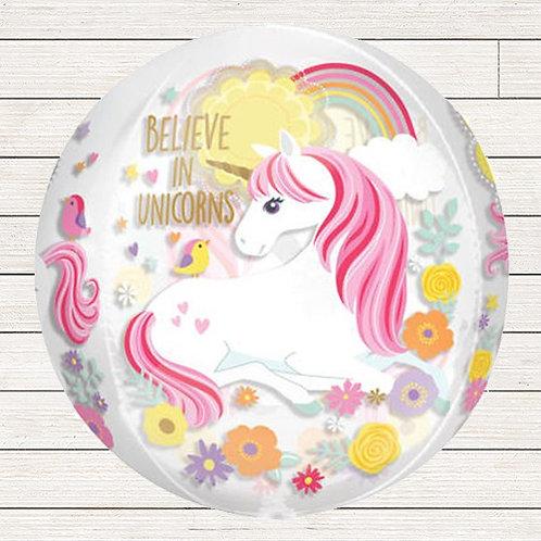 Unicorn Orb Balloon