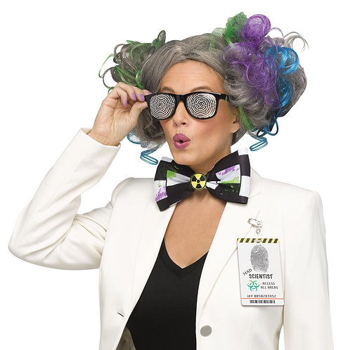 Mad Scientist Women's Wig