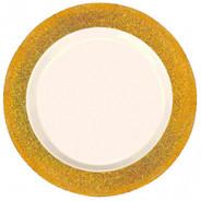 Gold Sparkle Premium Plastic