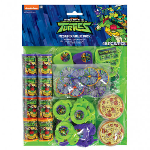 Rise of TMNT Mega Mix Favor Pack