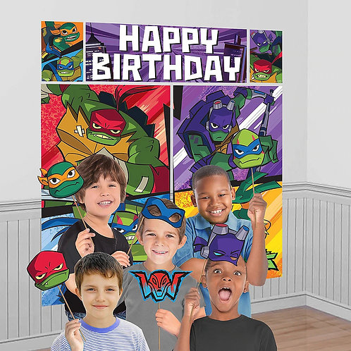 Rise of TMNT Photo Booth Kit