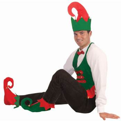 Elf Hat & Shoe Cover Kit