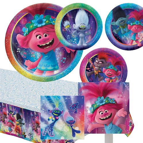 Trolls World Tour Tableware Kit
