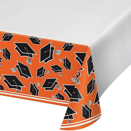 "Orange Grad 54""x102"" Tablecover"