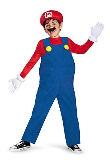 Mario Boy's Costume