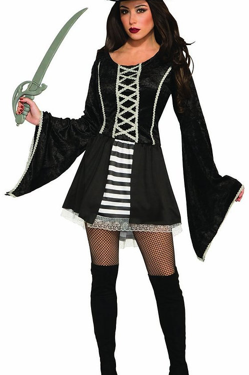 Black Seas Pirate Women's Costume
