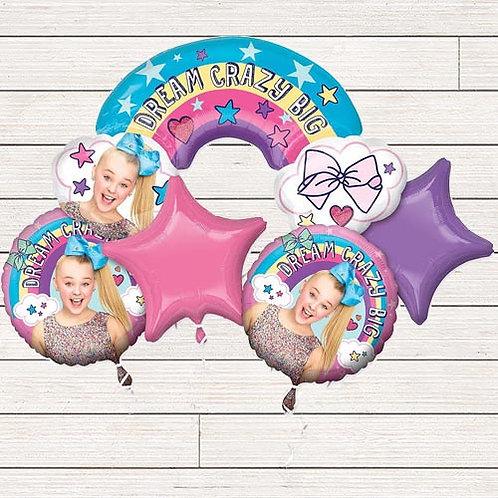 Jojo Siwa Mylar Balloon Bundle