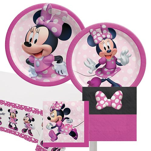Minnie Mouse Forever Tableware Kit