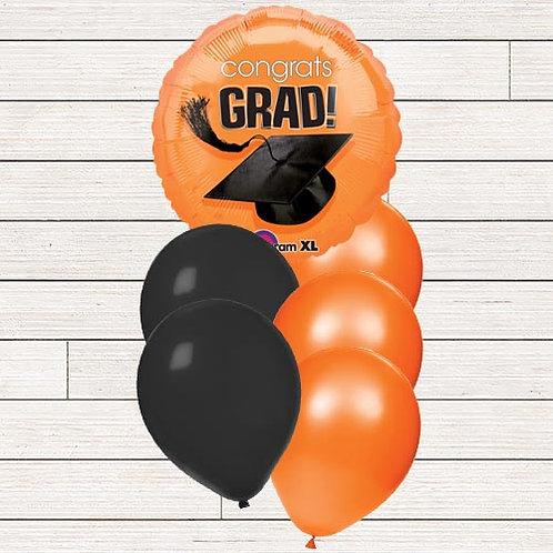 Orange Grad Balloon Bouquet