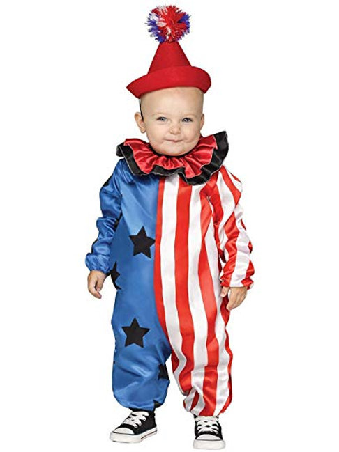 Happy Clown Infant Costume