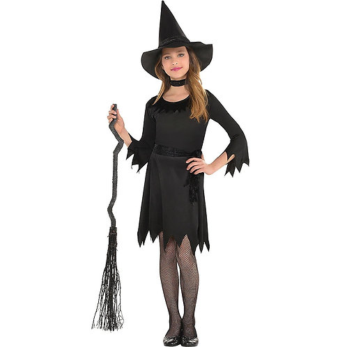Lil' Witch Girl's Costume