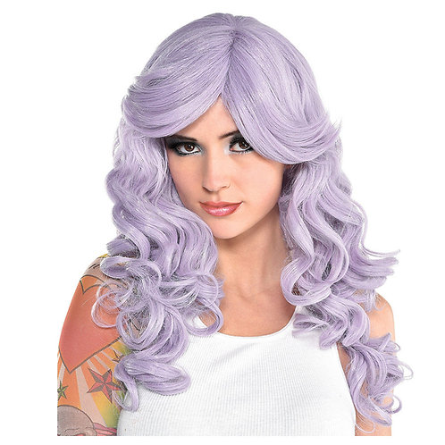 Dusty Lavender Wig