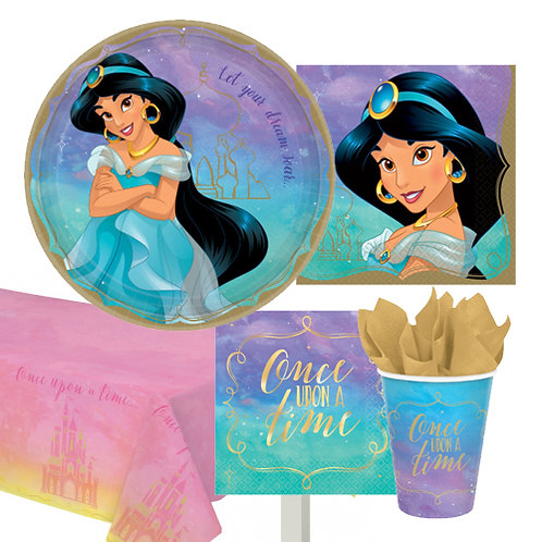Jasmine Disney Princess Tableware Kit