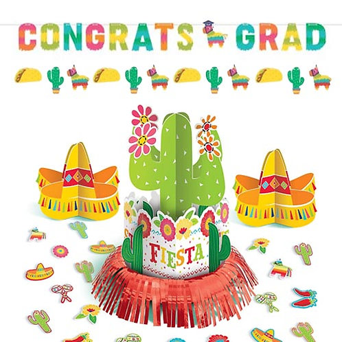 Fiesta Fun Graduation Decoration Kit