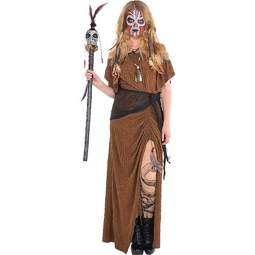 Witch Doctor Women's Costume