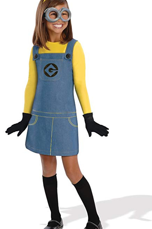Minion Girl's Costume