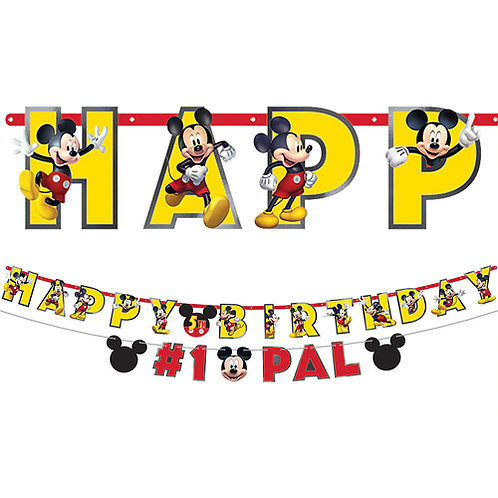Mickey Mouse Banner Kit