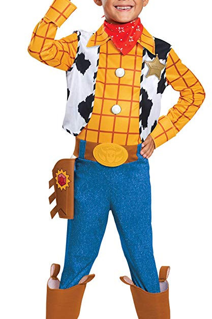 Toy Story 4 Woody Boy's Costume
