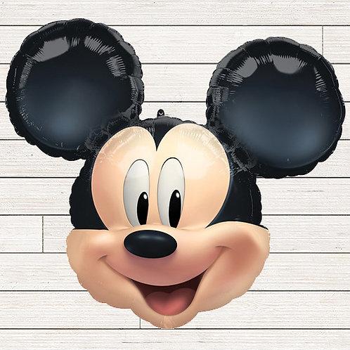 Mickey Head Jumbo Mylar Balloon